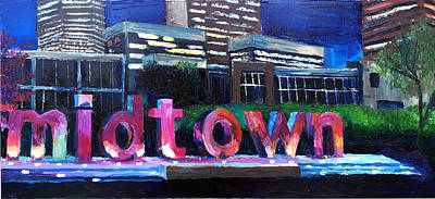 Midtown Glow Original by Lauren Luna