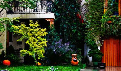 Photograph - Midtown Halloween by Susan Vineyard