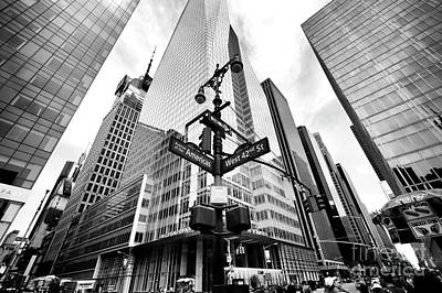 Art Print featuring the photograph Midtown by John Rizzuto
