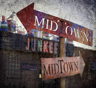 Photograph - Midtown Junkee by Rick Mosher