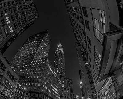 Mamiya Photograph - Midtown Manhattan In Bw by Darren Maxwell