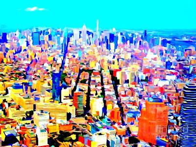 Photograph - Midtown Mosaic by Ed Weidman