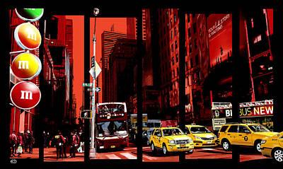 Midtown Art Print by Robin DaSilva