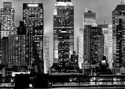 Photograph - Midtown Shapes by Rospotte Photography