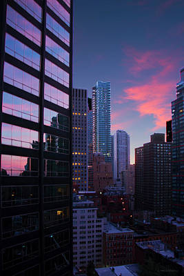 Photograph - Midtown Sunrise by Debby Richards