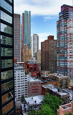 Photograph - Midtown View by Debby Richards