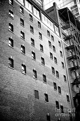 Photograph - Midtown Window Patterns by John Rizzuto
