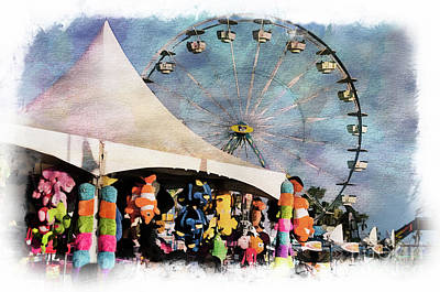 Photograph - Midway Attractions by Norma Warden