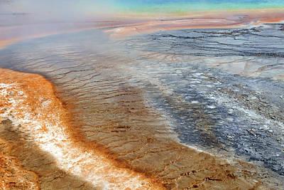 Photograph - Midway Geyser Basin 06 by Jeff Brunton