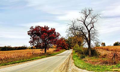 Midwest Autumn  Art Print