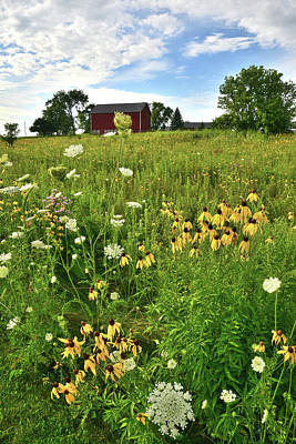 Photograph - Midwest Farm Scene by Ray Mathis