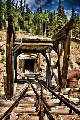 Photograph - Midwest Mine by Lana Trussell