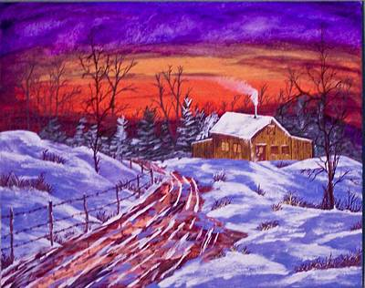Midwest Winter Original by J Ringo