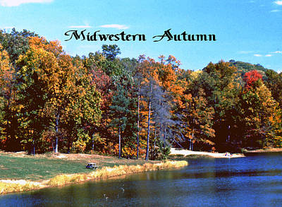 Photograph - Midwestern Autumn by Gary Wonning
