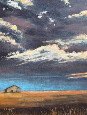Painting - Midwestern Sky by Gene Foust