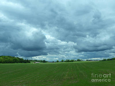 Photograph - Midwestern Sky by Rosanne Licciardi