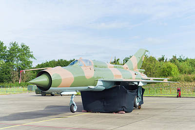 Photograph - Mig-21 Fighter Jet by Hans Engbers