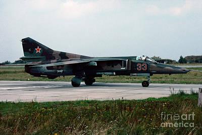 Photograph - Mig-27 by Oleg Konin