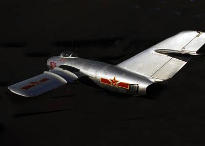 Jet Star Photograph - MiG by David Lee Thompson