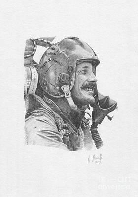 Mcdonnell Douglas F-4 Phantom Ii Painting - Mig Killer by Reinaldo Munilla