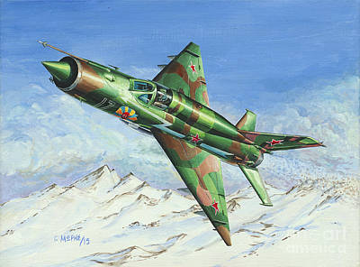 Mig21 Normandie Niemen Original by Georgios Moris