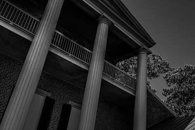 Photograph - Mighty Columns - The Hermitage by James L Bartlett