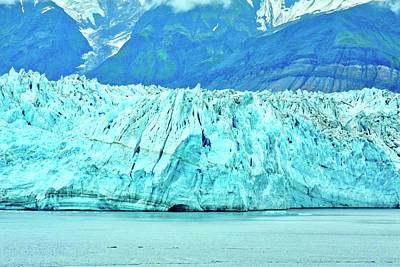 Photograph - Mighty Hubbard Glacier by Kirsten Giving