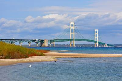Photograph - Mighty Mac In October by Keith Stokes