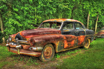 Photograph - Mighty Mercury 1951 4 Door Sedan by Reid Callaway