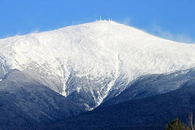 Photograph - Mighty Mt. Washington by Suzanne DeGeorge