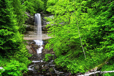 Photograph - Mighty Munising Waterfall by Peg Runyan