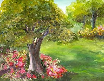 Painting - Mighty Oak by Shirley Lawing