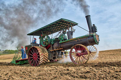 Photograph - Mighty Peerless Plowing by Shelly Gunderson