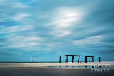 Mighty Pier Art Print by Doug Sturgess