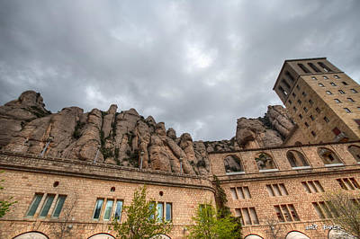 Photograph - Mighty Rocks Of Montserrat by Walt  Baker