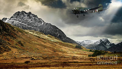 Photograph - Mighty Tryfan Snowdonia by Adrian Evans