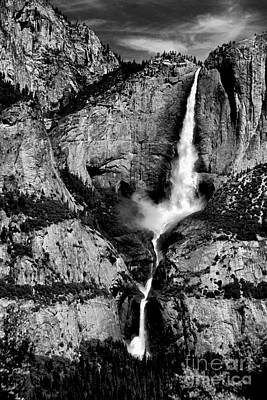 Photograph - Mighty Yosemite Falls by Paul W Faust - Impressions of Light