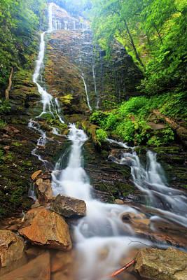 Tennesee Photograph - Migno Falls by Bryan Bzdula