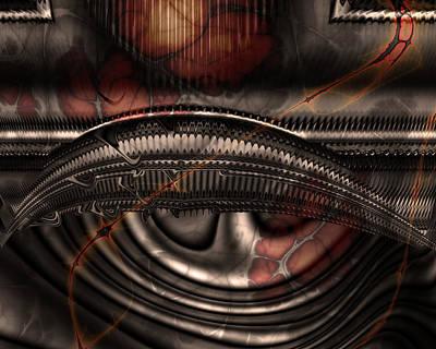 Headache Digital Art - Migraine by Vic Eberly