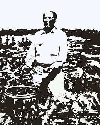 Migrant Farmer Art Print