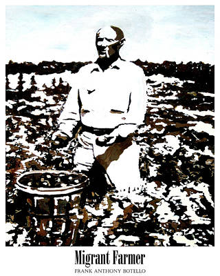 Painting - Migrant Farmer II by Frank Botello