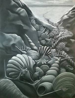 Drawing - Migration by Lynne Renzenberger