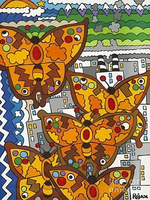 Migration Art Print by Rojax Art