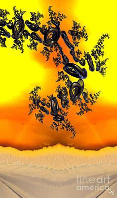 Digital Art - Migration by Ron Bissett