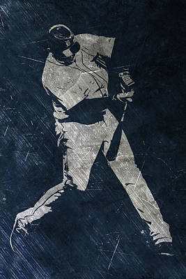 Miguel Cabrera Detroit Tigers Art Art Print by Joe Hamilton