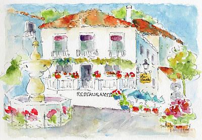 Painting - Mijas La Plaza De La Constitution by Pat Katz