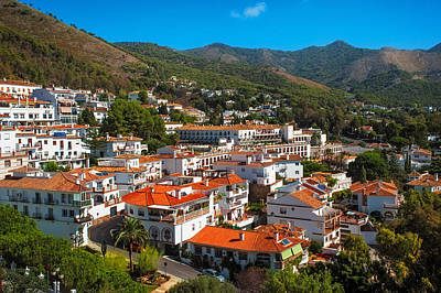 Photograph - Mijas Village In Spain by Jenny Rainbow