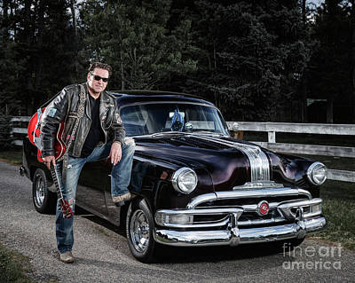 Photograph - Mike And His 53 Pontiac by Brad Allen Fine Art