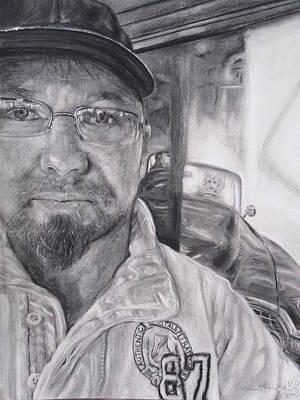 Mike Dennis Artist Original by Adrienne Martino