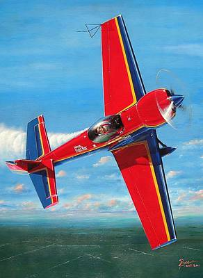 Plane Wall Art - Painting - Mike Goulian's 232 by Peter Ring Sr